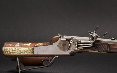 A South German wheellock rifle from the armoury of the