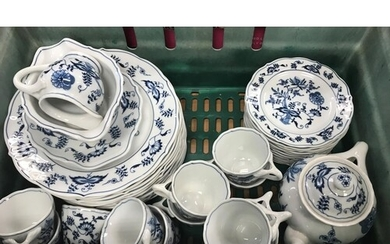 A large collection of ''Blue Danube'' dinner and tea wares i...