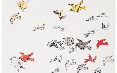 Andy Warhol: Birds and Flowers
