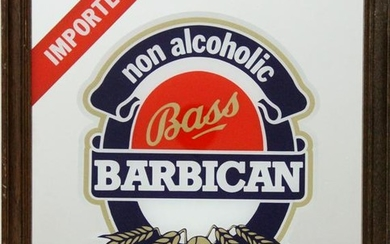 Antiques, Bass Beer - Barbican, Print on Mirror