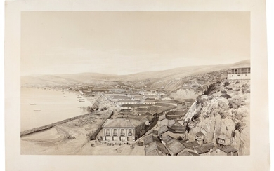 CHILE | Two lithographed views of Valparaiso, [c.1854]
