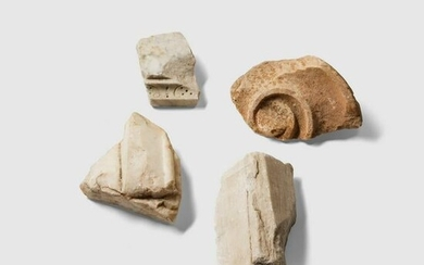 COLLECTION OF MARBLE FRAGMENTS EUROPE AND NORTH AFRICA