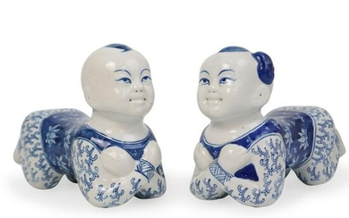 Chinese Porcelain Pillows