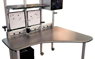 Contemporary Modern Office Cubical Desk by Richard
