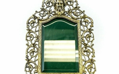 Continental Silverplate Bacchus Photo Frame