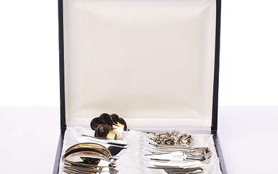 Cutlery Chippendale fresh silver Bestick Chippendale nysilver