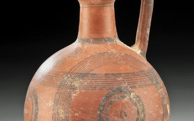 Cypriot Redware Trefoil Mouthed Oinochoe