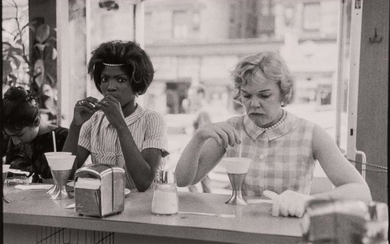 DAVIDSON, BRUCE (b. 1933) [Time of Change series (Two Women at Lunch Counter)]