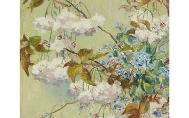 Elizabeth Fisher Washington (American, 1871–1953) Floral Designs Signed bottom...