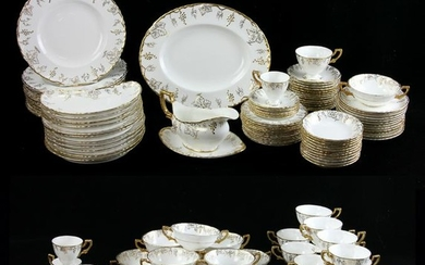 English Royal Crown Derby Vine, Service for (12)