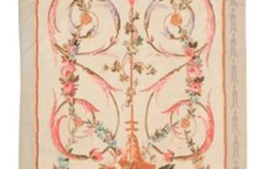 FRENCH SAVONNERIE TAPESTRY - EARLY 20TH CENTURY
