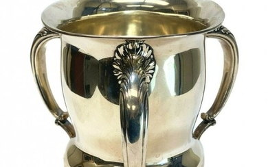Gorham Sterling Silver 7 Pint Loving Cup, 1901