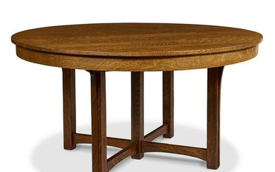 Lifetime Puritan Motif dining table, #9159