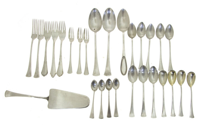 Lot of Silver Flatware Pieces.