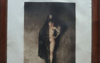 """Louis ICART (1888-1950) """"Couchika"""" Lithograph signed and numbered,..."""