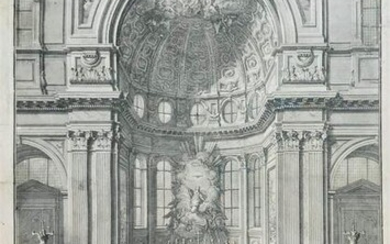 POSI - VASI. Apse and altar of the Naples Cathedral.