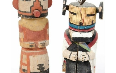 Pair of Hopi Katsinas