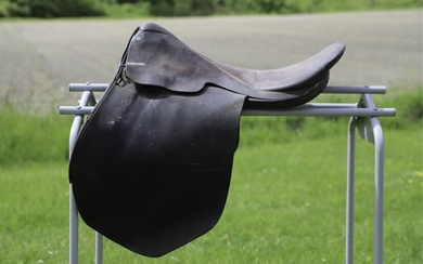 """THE SADDLE SHOP INC"" ENGLISH LEATHER SADDLE"