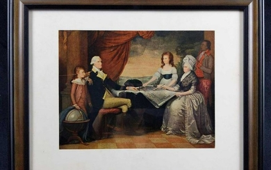 The Washington Family By Edward Savage Art Print