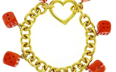 Tiffany & Co. Yellow Gold Bracelet with Mediterranean