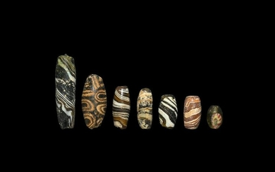 Western Asiatic Glass Bead Collection