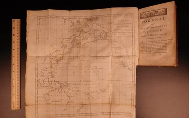 1783 Captain James Cook Third Pacific Voyage Illustrate