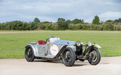 1927 Frazer Nash Boulogne Super Sport, Registration no. PH 3870 Chassis no. 1118