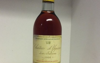 1966 Chateau d'Yquem - Sauternes - 1 Bottle (0.75L)