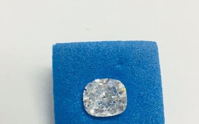 1ct Cushion cut diamond,H Coloured,si2 clarity,very good cut and symmetry,tested as clarity enhanced natural