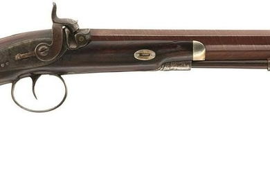 A 32-BORE PERCUSSION OFFICER'S PISTOL BY EGG, 10inch