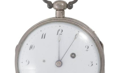 A Breguet silver cased gent's pocket watch