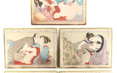 A set of five late 19th / early 20th...