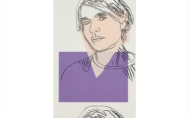 Andy Warhol (American 1928-1987), After Self-Portrait (Wallpaper), 1978