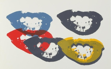 Andy Warhol, I Love your Kiss Forever Forever