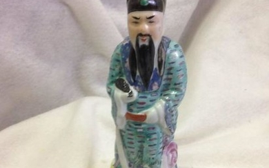 Antique Chinese Porcelain Wise Man
