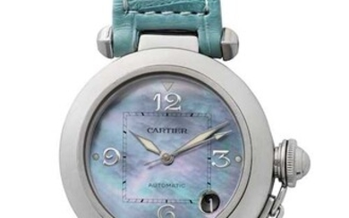 Cartier Pasha, Wristwatch, 1990s.