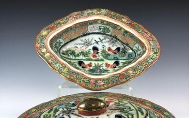Chinese Export Famille Bowls