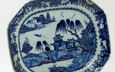 Chinese tray in porcelain XIX century