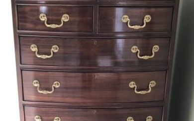 Chippendale Style Councill Dressing Room Bureau