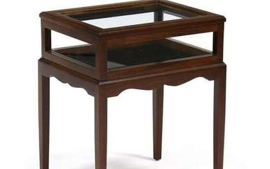 Chippendale Style Mahogany Collector's Stand