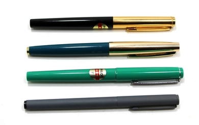 Collection of 4 Fountain Pens made by Pilot