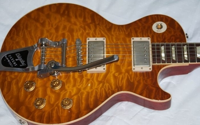 "Gibson - 2014 Gibson Les Paul 129 ""59 Reissue & Aged with Brigsby"", Custom Shop - Electric guitar - United States of America - 2014"