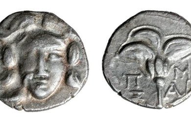Greece Caria AR Silver Drachm - 2.8 grams