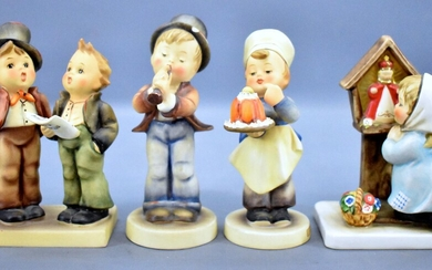 Group of four Hummel figurines BYJ59 130 128
