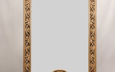 HALL MIRROR WITH BENCH