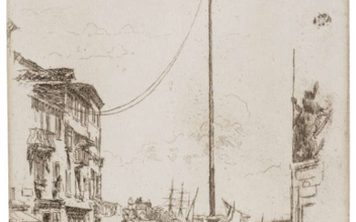 James Abbott McNeill Whistler (1834-1903) The Little Mast