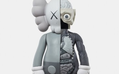 KAWS, FOUR FOOT DISSECTED COMPANION (Grey)