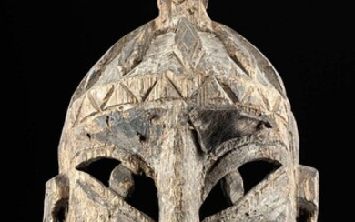 Late 19th C. Chinese Wooden Yao Priest / Shaman Mask