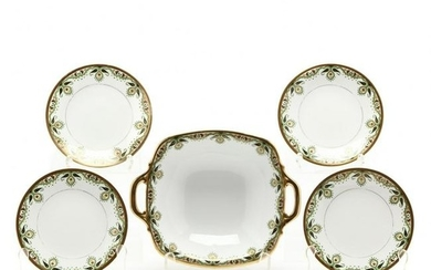 Limoges Bowl and Plates