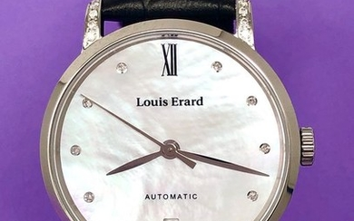 Louis Erard - Diamond Automatic Watch Excellence Collection- 68235CS14.BDC62 - Women - BRAND NEW